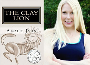 Amalie Jahn, author of the Clay Lion series